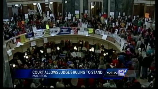 Appeals court refuses to reinstate portions of Act 10