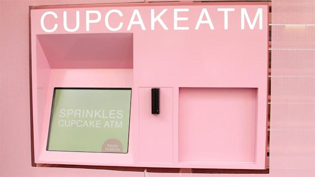 Cupcakes, Fresh Out of the ATM