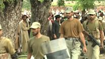 Raw: Police, Protesters Clash in Pakistan