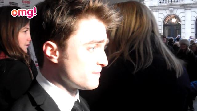 Daniel Radcliffe is a Hero at the Empire Awards