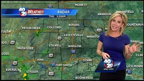 Laura Huckabee Weather Webcast April 24th