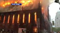 Massive Fire Guts Historic Manhattan Church