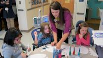 Nonprofit uses art to make hospital stays brighter