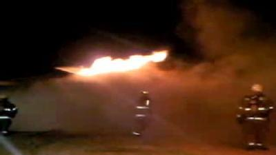 Raw Video: House Fire In MWC Part 2