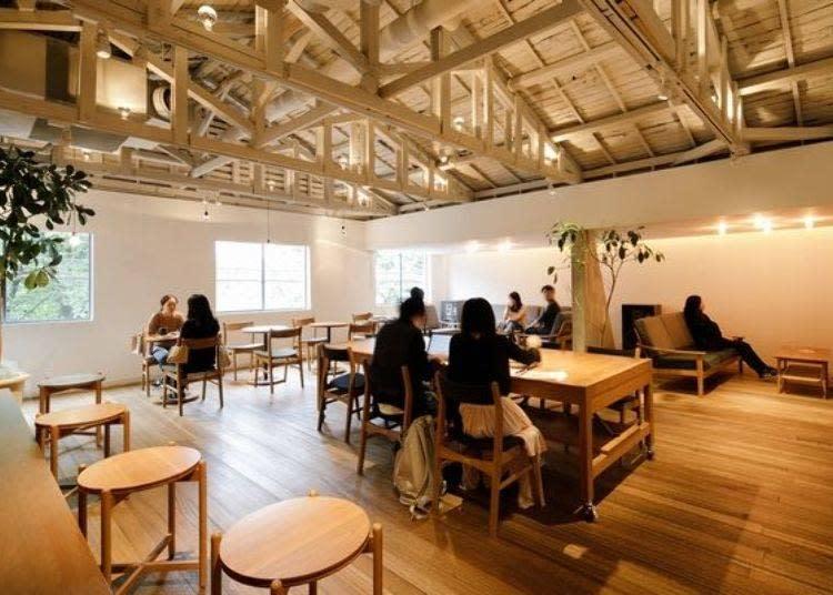 2樓是和工作坊合併,可享用咖啡的空間
