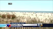 Beautiful Weather Lures Many People To Jersey Shore