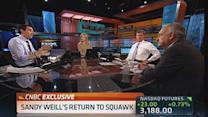 New Fed head? Weill thinks Larry Summers is 'terrific'