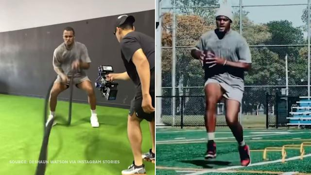 Deshaun Watson Breaks Silence on Sexual Abuse Allegations with Instagram Workout Video