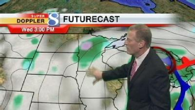 Video Forecast: Drier Conditions Wednesday