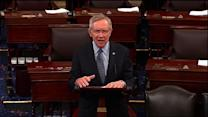 Reid slams GOP for delaying Hagel vote