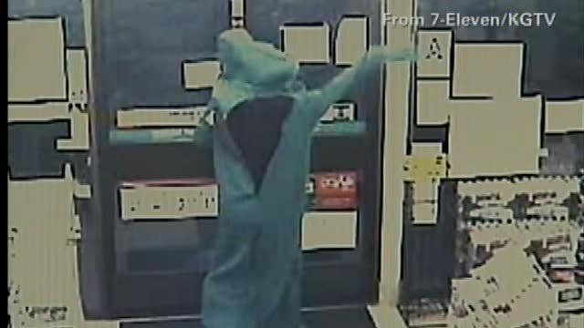 Gumby robs convenient store
