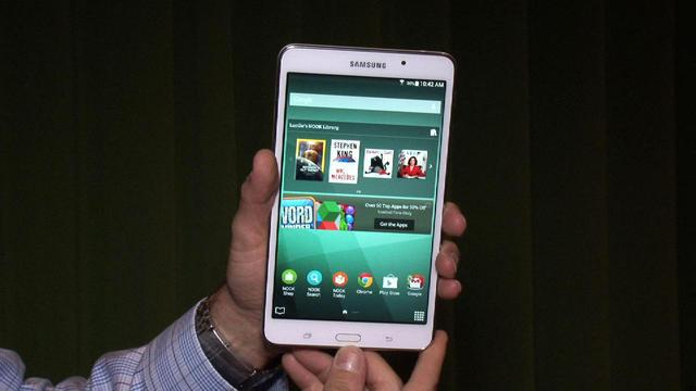 Galaxy Tab 4 Nook: Hands-on with B&N's take on Samsung's reading tablet