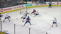 Hall sets up Eberle on the doorstep