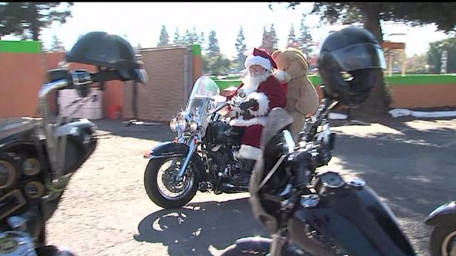Thousands of Bikers Gather For Annual Toy Drive