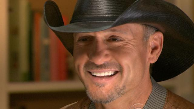 Tim McGraw talks