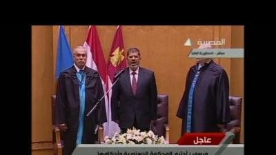 Islamist sworn in as Egypt's president
