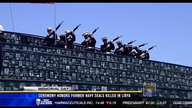 Ceremony honors former Navy SEALs killed in Libya