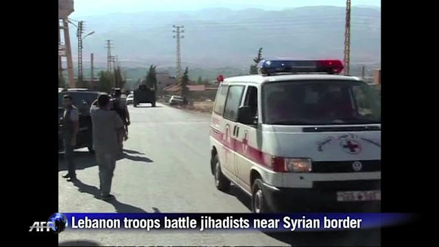 Lebanon army buries soldiers after clashes near Syria border