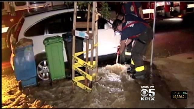 Aging Pipes A Concern After Broken SF Water Main Flood