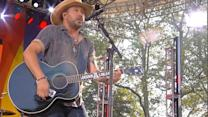 Jason Aldean Sings 'When She Says Baby' on 'GMA'