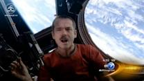 Singing astronaut Chris Hadfield exits space station with music video