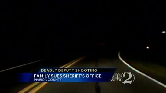 Family of man shot by deputy sues sheriff's office
