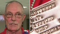 Veteran's dog tags returned 45 years later
