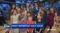 Family day at the NYSE