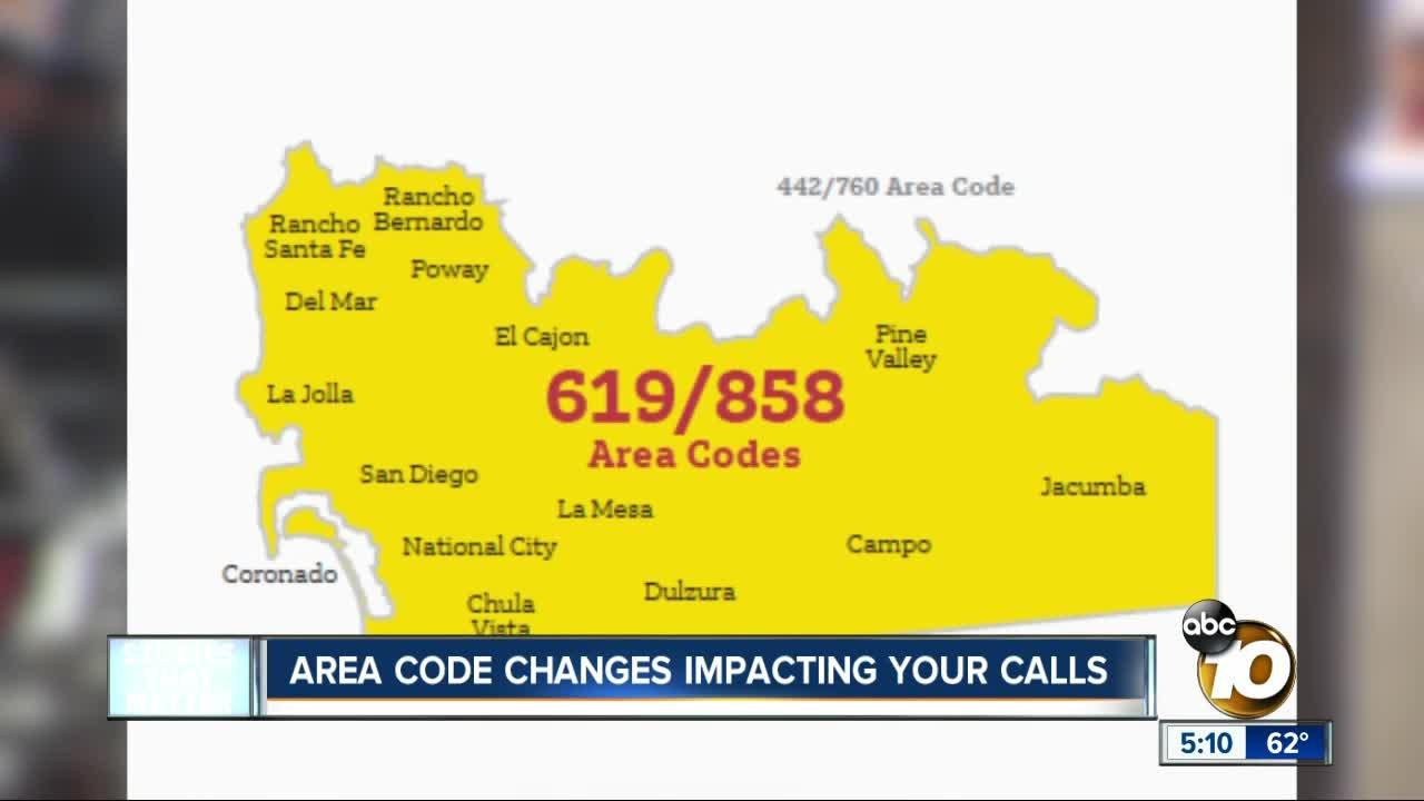 San Diego callers will be required to use area codes for local calls