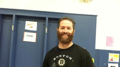 Auburn Teacher Shaves Beard For Bruins, Cancer Patients