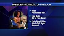 Obama to award Oprah, Ernie Banks Medals of Freedom