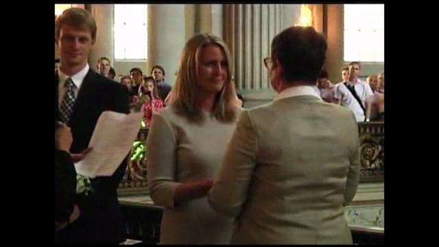 Raw: First Same-Sex Wedding Takes Place After Prop. 8 Lifted