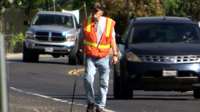 Vietnam vet walks for those who served in Iraq and Afghanistan