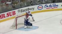Grabner takes advantage of Bernier's miscue