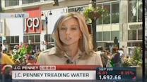 JC Penney treading water
