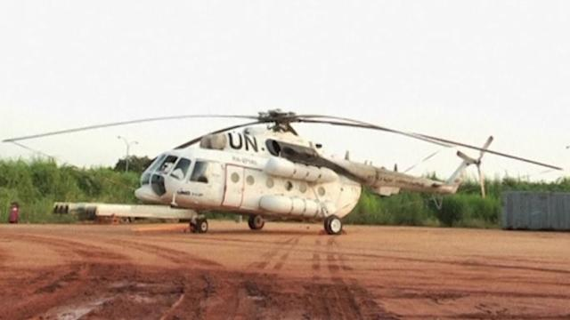 Three killed in UN helicopter crash in South Sudan