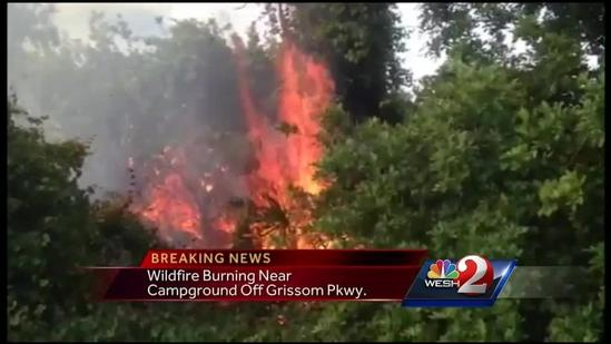 Dan Billow reports from Cocoa firefight