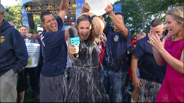 'GMA' Anchors Take the Ice Bucket Challenge