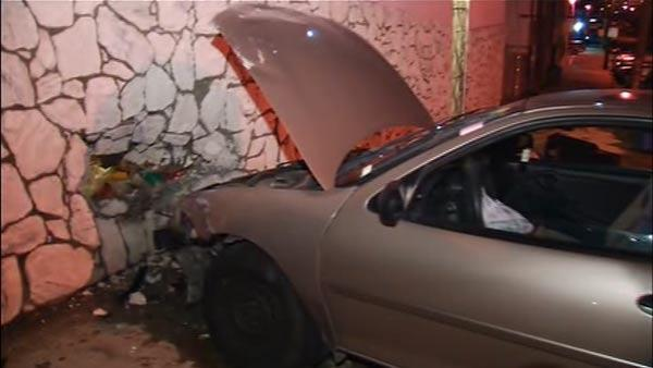 Car slams into home in SF's Bayview District