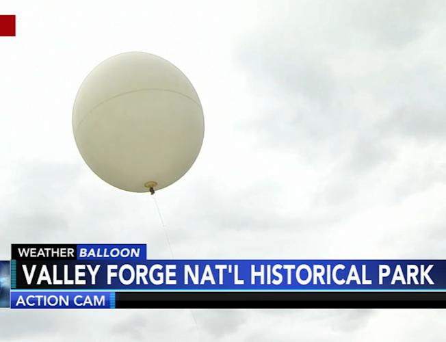 The 6abc Weather Balloon is in the air!