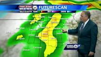 Strong storms expected this afternoon