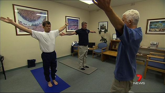Vets turn to yoga for relief