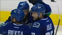 Canucks tally twice in 73 seconds on Hutton