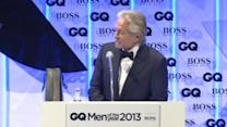 Douglas wins GQ award, Harper joins 'Dancing With the Stars'