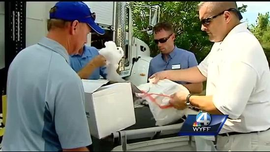 Greenville Federal Credit Union holds shred day