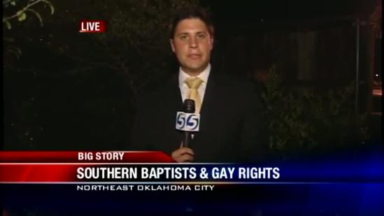 Southern Baptist Convention Takes Stance On Gay Marriage