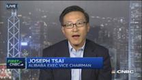 Alibaba's Tsai: Two sides of mobile growth