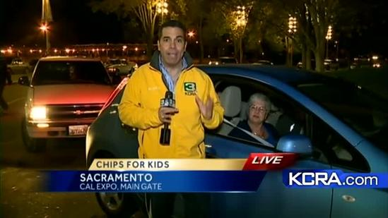 KCRA 3 live at CHiPs for Kids Toy Drive