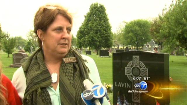 Mother of fallen Marine Conner Lowry spends Memorial Day at her son's grave