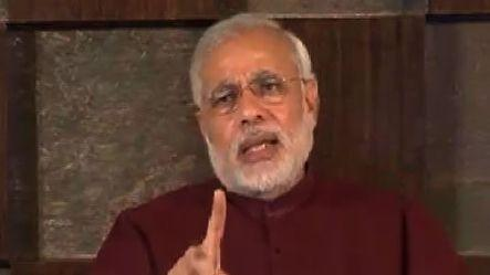 """India first"" is my definition of Secularism: Modi"